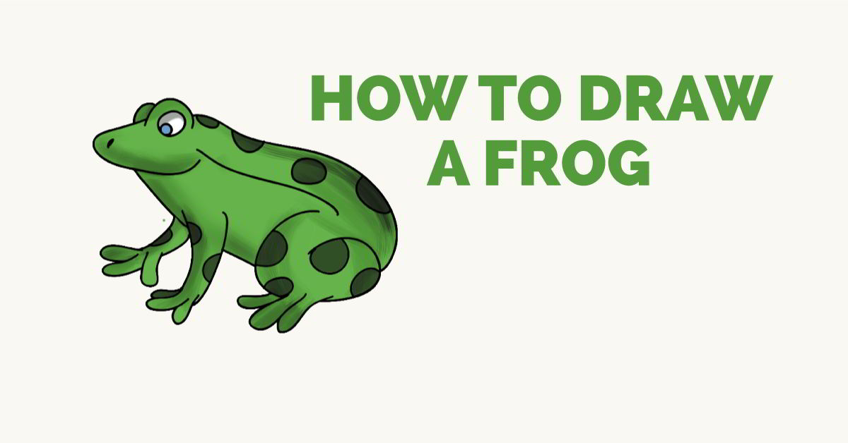 How to Draw a Frog - featured image