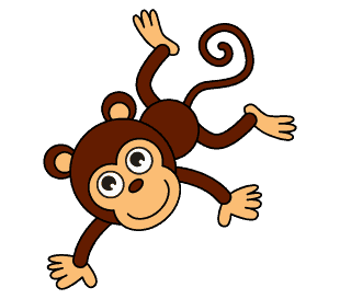 How To Draw A Cartoon Monkey In A Few Easy Steps | Easy Drawing Guides
