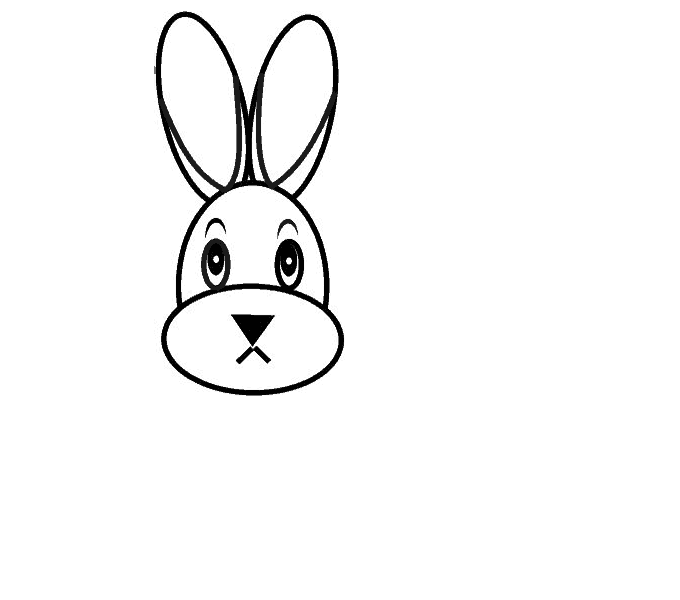 How To Draw A Cartoon Bunny In A Few Easy Steps Easy Drawing Guides