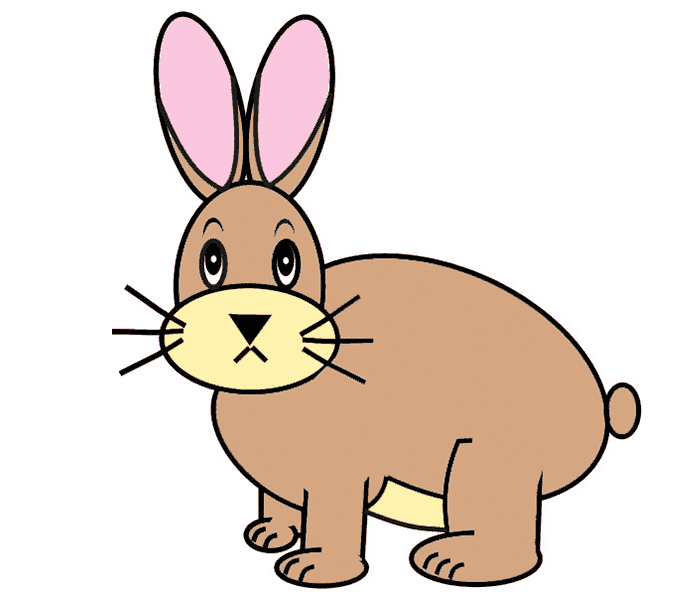 How to Draw Bunny: Step 12