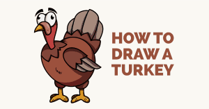 How to Draw a Turkey - featured image