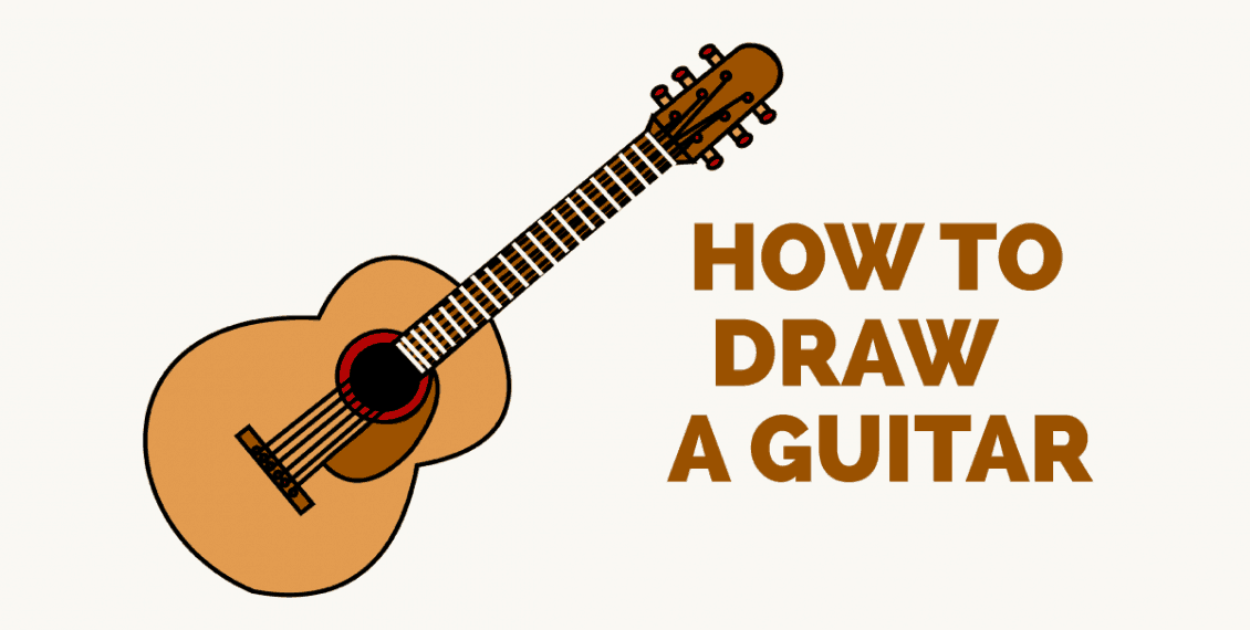 How to Draw an Acoustic Guitar- featured image