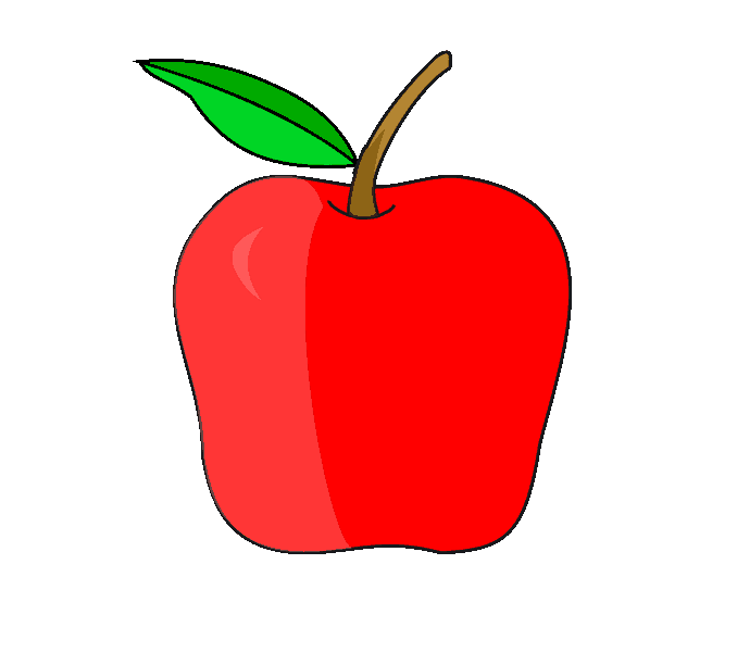 How to Draw Apple: Step 10