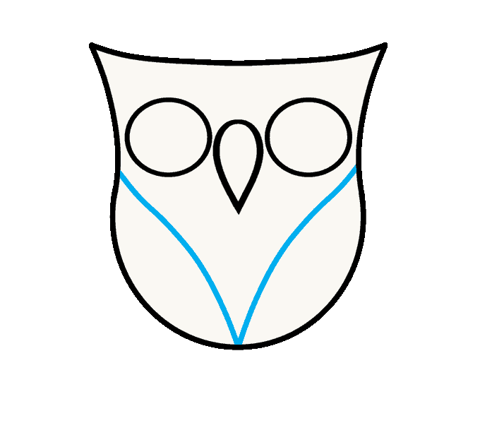 How to Draw Owl: Step 5