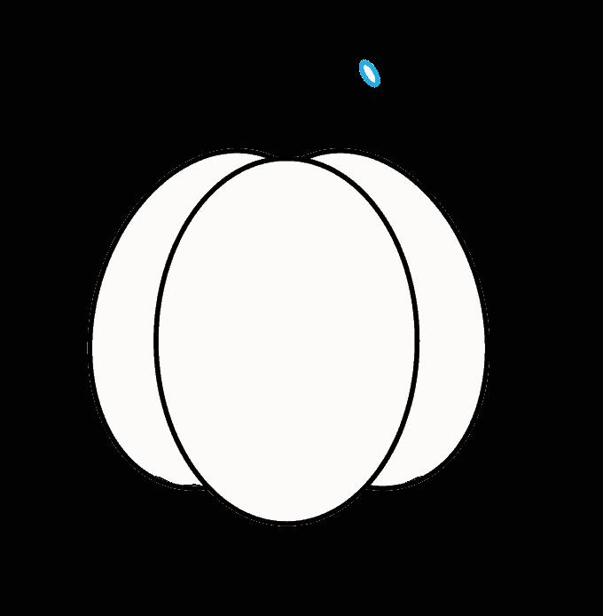 How to Draw Jack O Lantern: Step 3