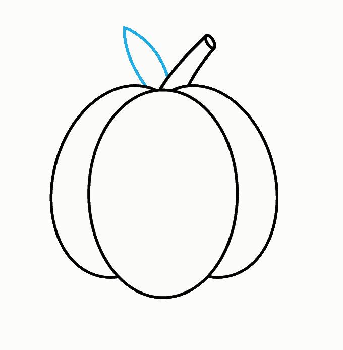 How to Draw Jack O Lantern: Step 5