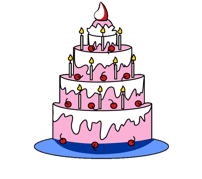 How to Draw Cake: Step 13