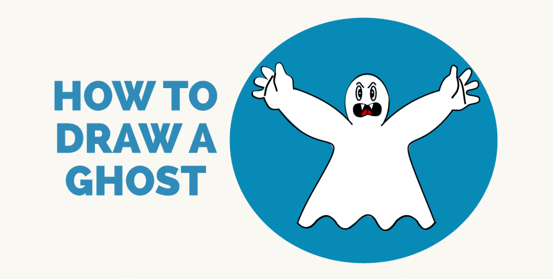 How to Draw a Ghost- featured image
