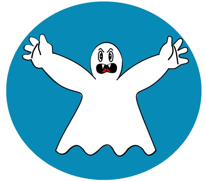 How to Draw Ghost: Step 10