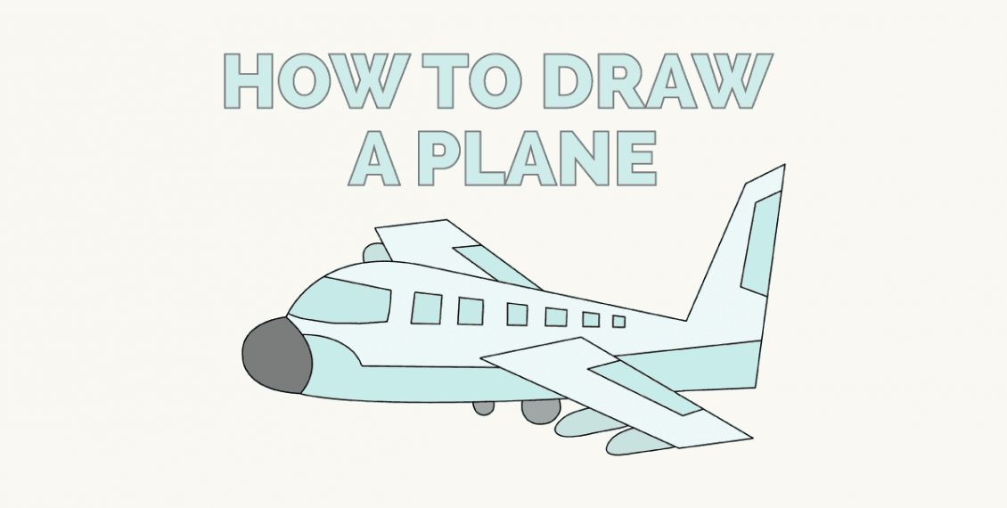 How to Draw a Plane - featured image