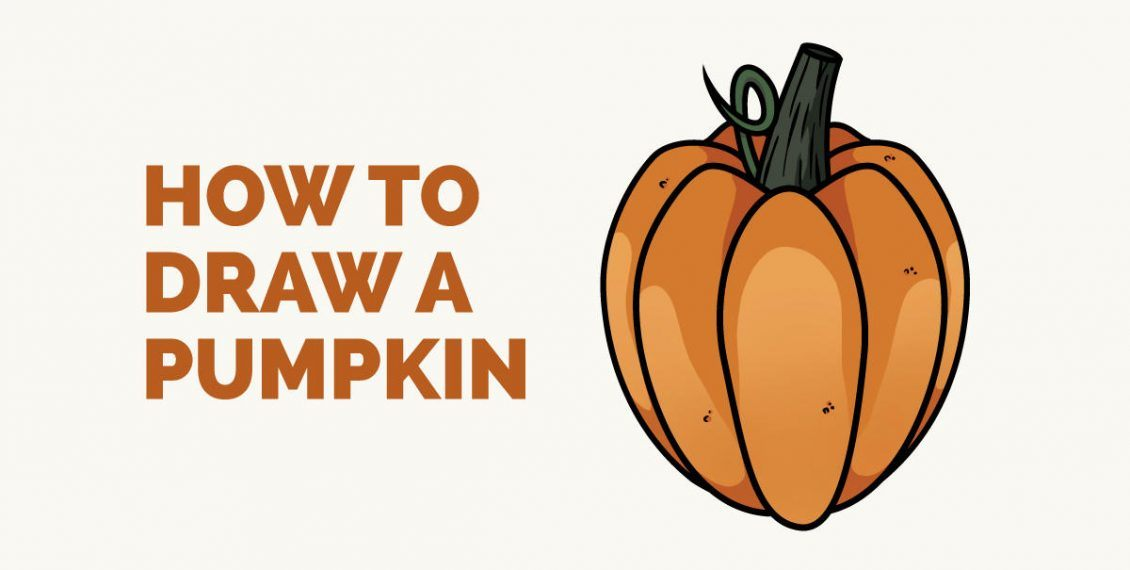 How to Draw a Pumpkin - featured image