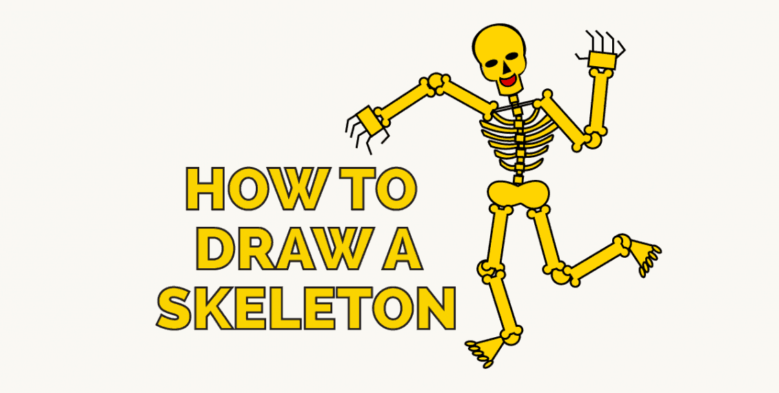 How to Draw a Skeleton - featured image
