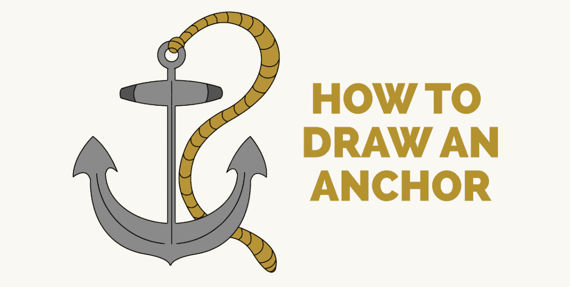 How to Draw an Anchor - featured image