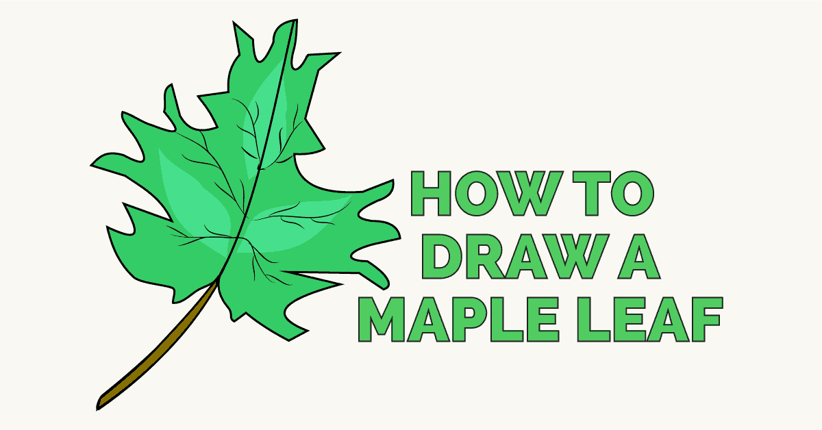How to Draw a Maple Leaf - featured image