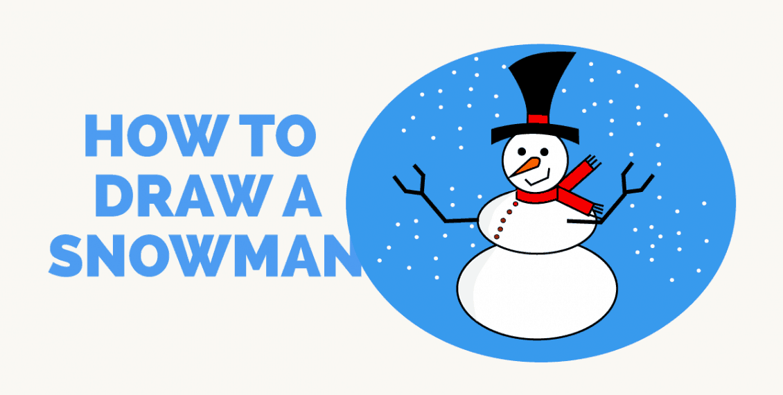 How to Draw a Snowman - featured image