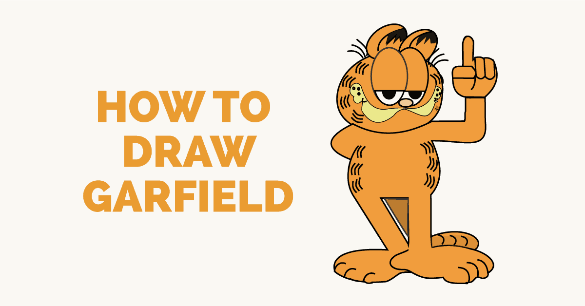 How to Draw Garfield - featured image