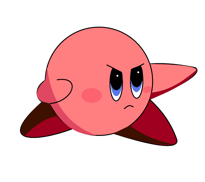 How to Draw Kirby: Step 9