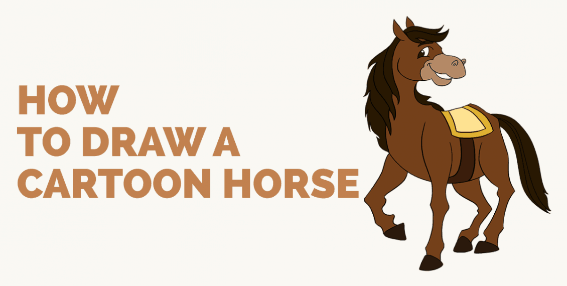 How to Draw a Cartoon Horse: Featured image