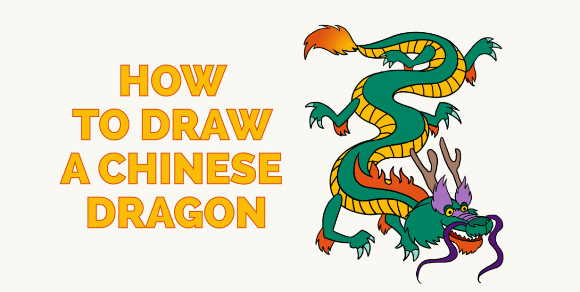 How to Draw a Chinese Dragon - Featured Image