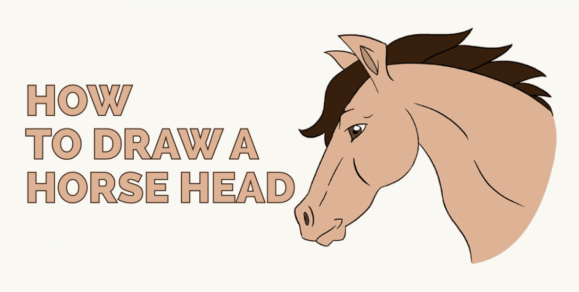 How to Draw a Horse Head: Featured image