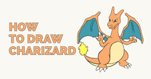 How to Draw Charizard: Featured Image