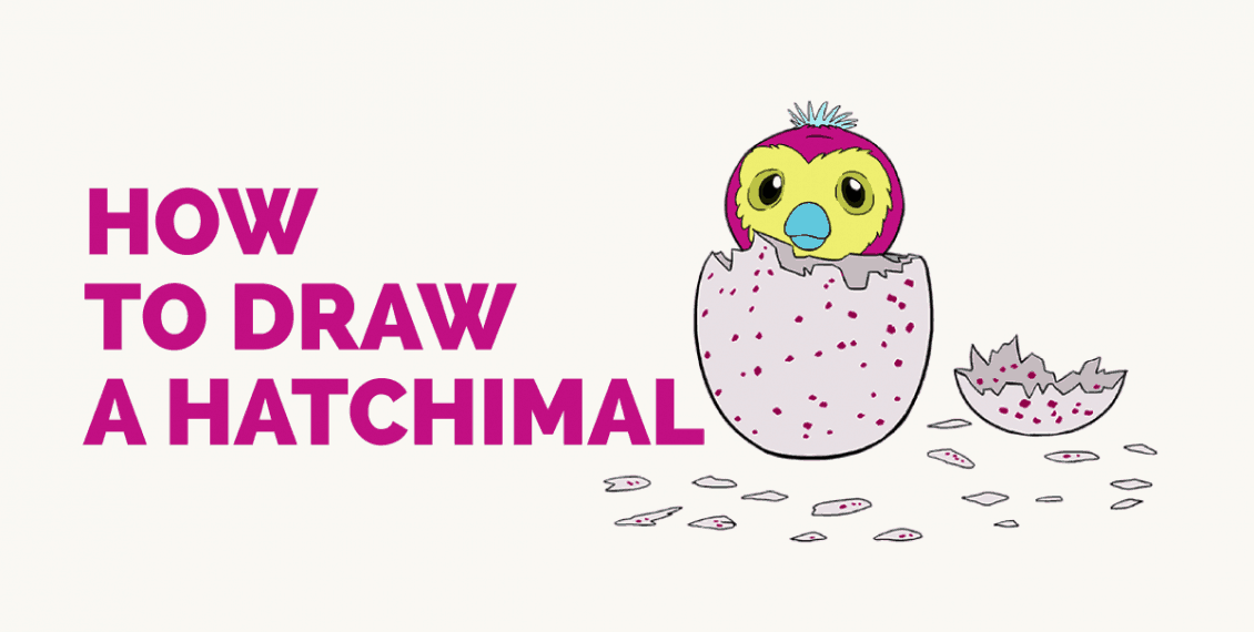 How to Draw a Hatchimal: Featured Image