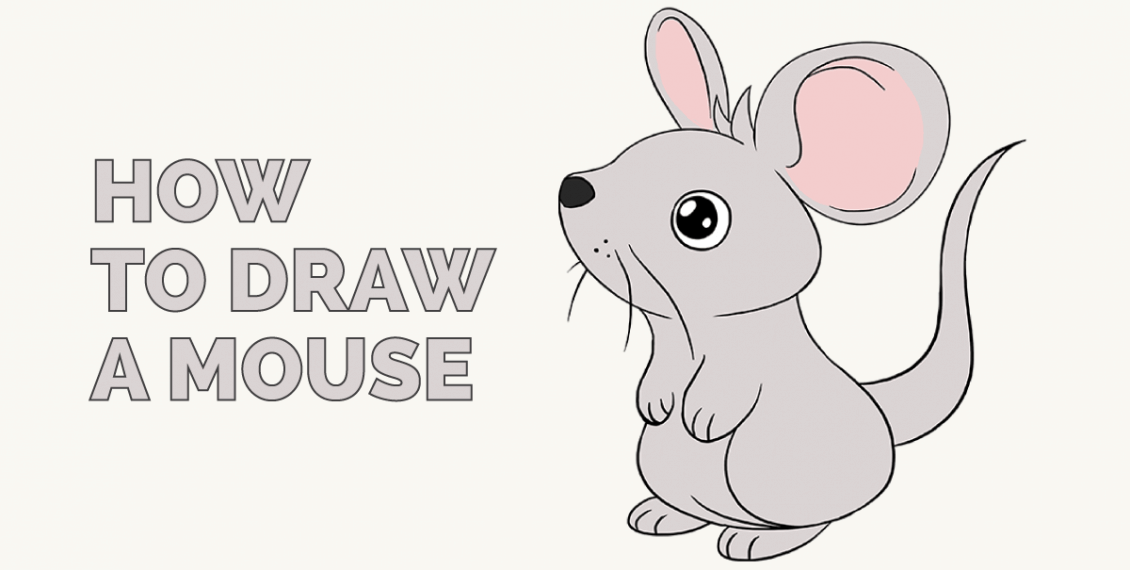 How to Draw a Mouse: Featured Image