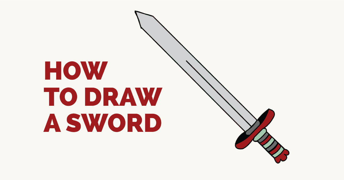 How to Draw a Sword: Featured Image