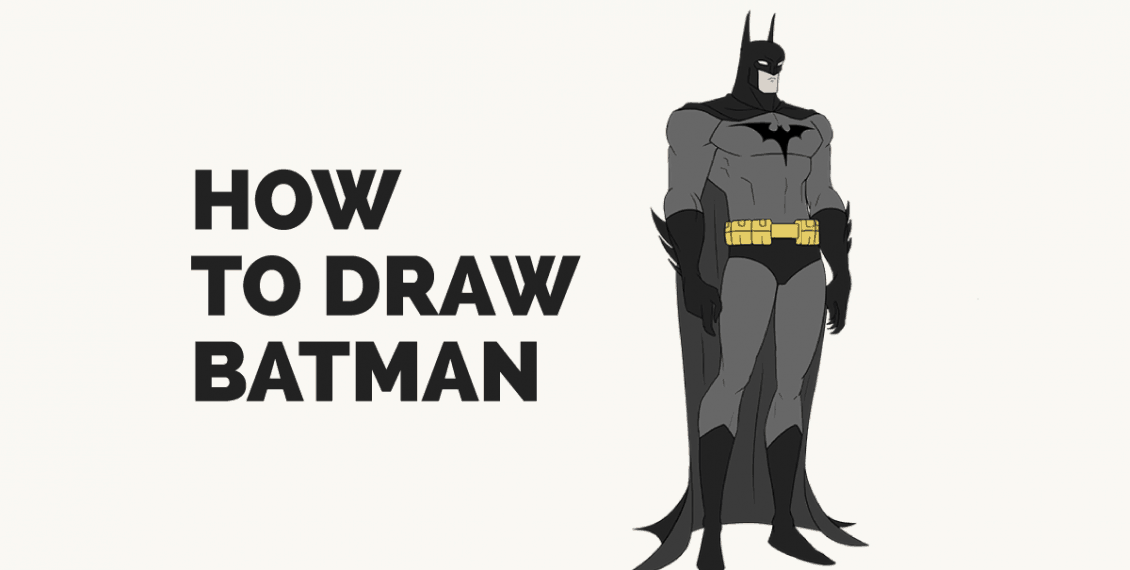 How to Draw Batman: Featured Image