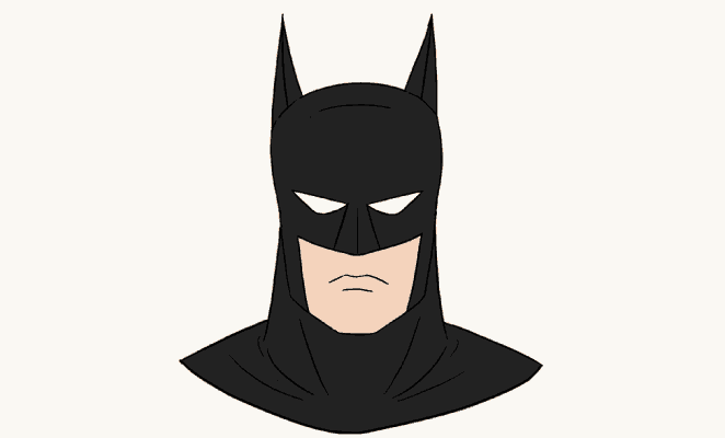How to Draw Batman's Head: Header Image