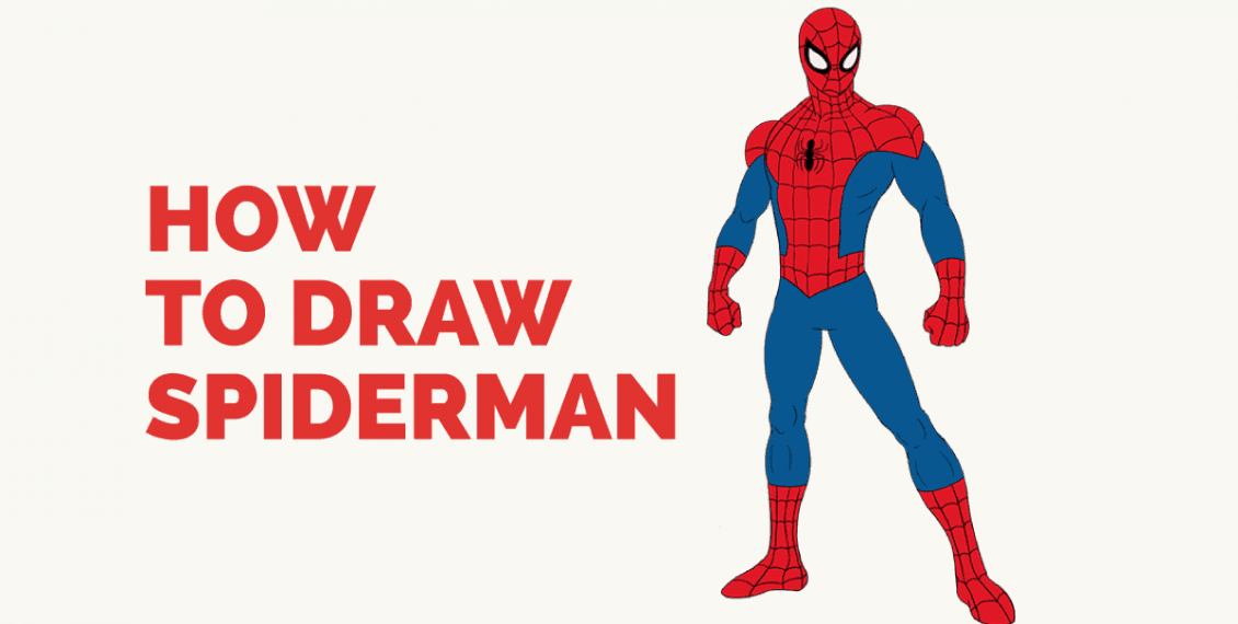 How to Draw Spiderman: Featured Image