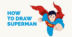 How Draw Superman - Featured Image