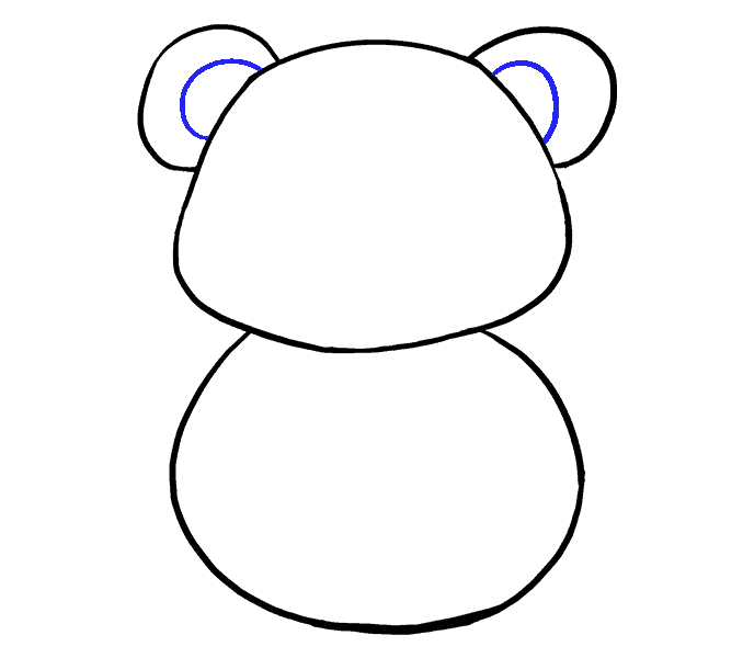 How to Draw Cartoon Panda: Step 6
