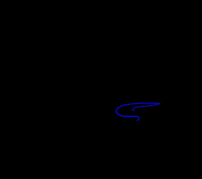 Cómo dibujar una serpiente de dibujos animados: Paso 13