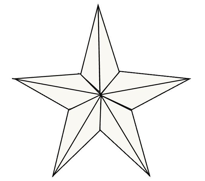 How to Draw Star: Step 8