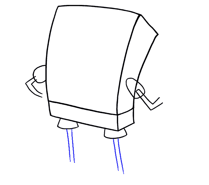 How to draw Spongebob Step: 6