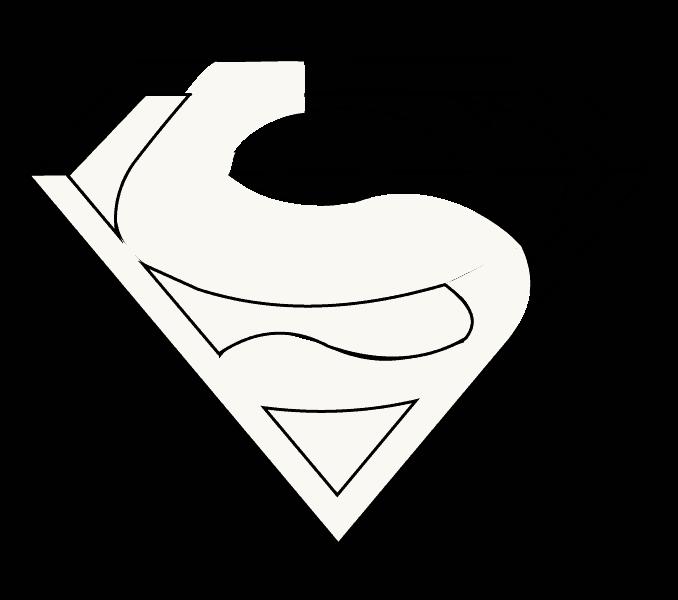 How to draw superman logo Step: 12