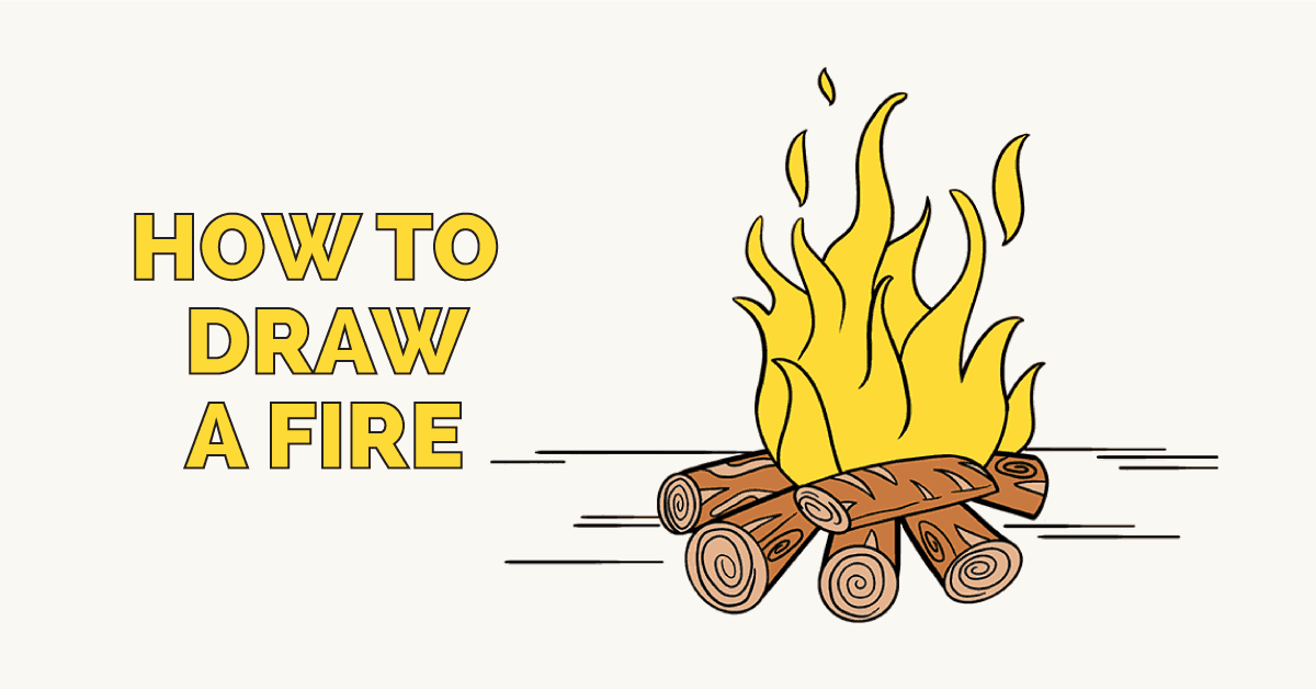 How To Draw A Fire Featured Image