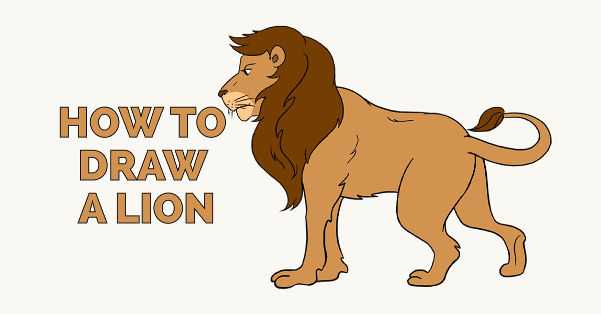 How to Draw a Lion: Featured image