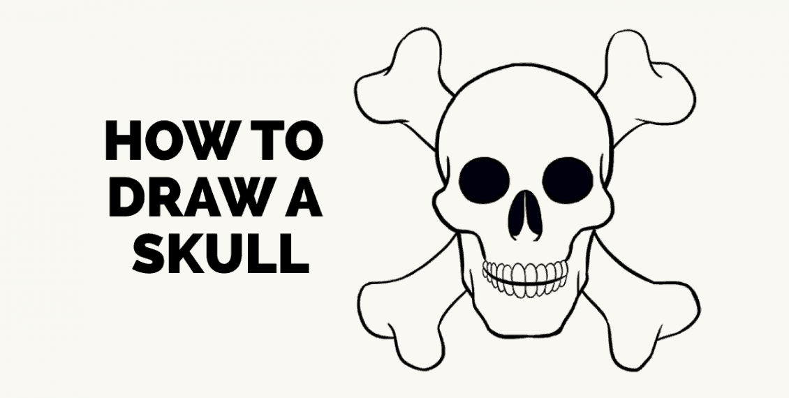 How to Draw a Skull: Featured image