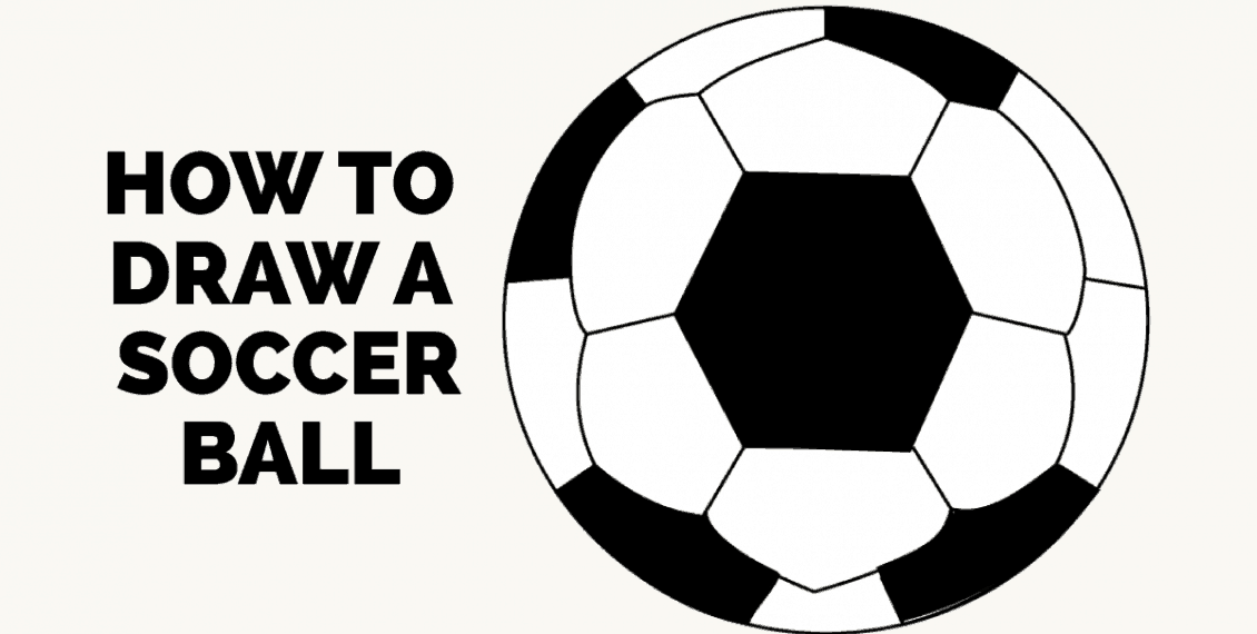 How to Draw a Soccer Ball: Featured image