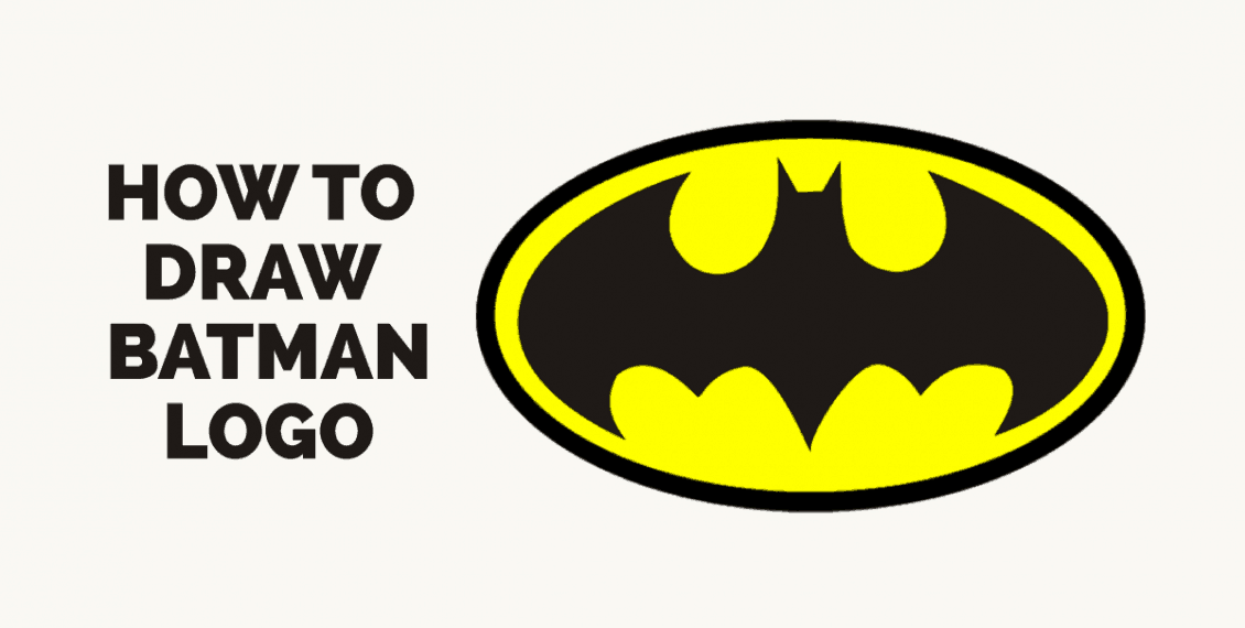 How to Draw Batman Logo: Featured image