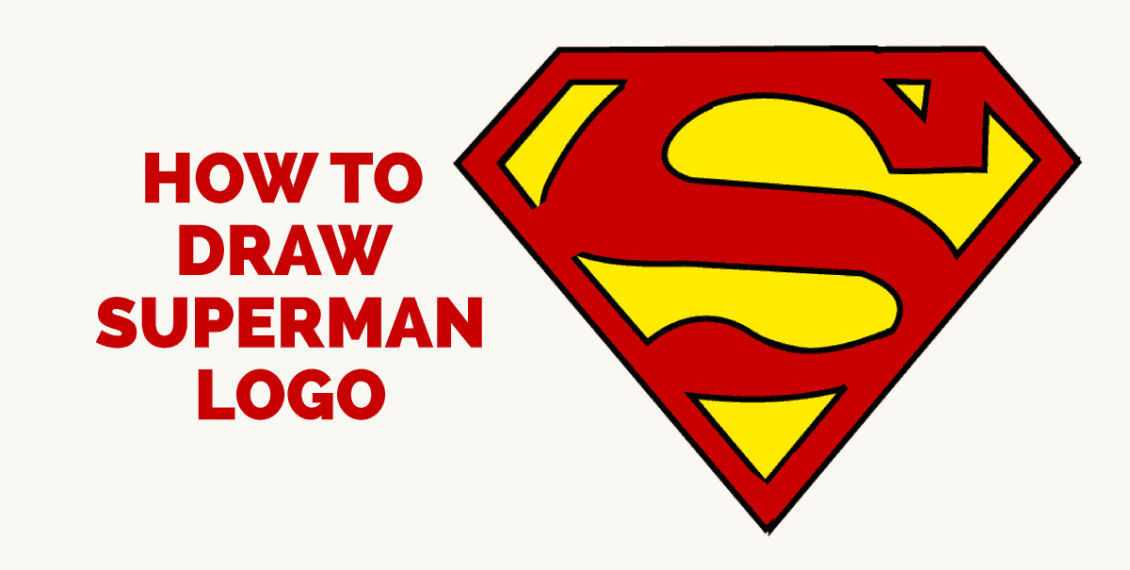 How to Draw Superman Logo: Featured image