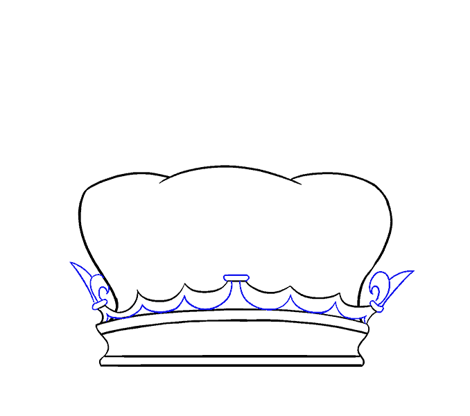 How to Draw Crown: Step 6