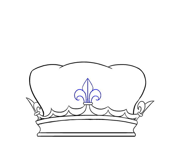 How to Draw Crown: Step 7