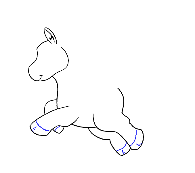 How to Draw Unicorn: Step 10