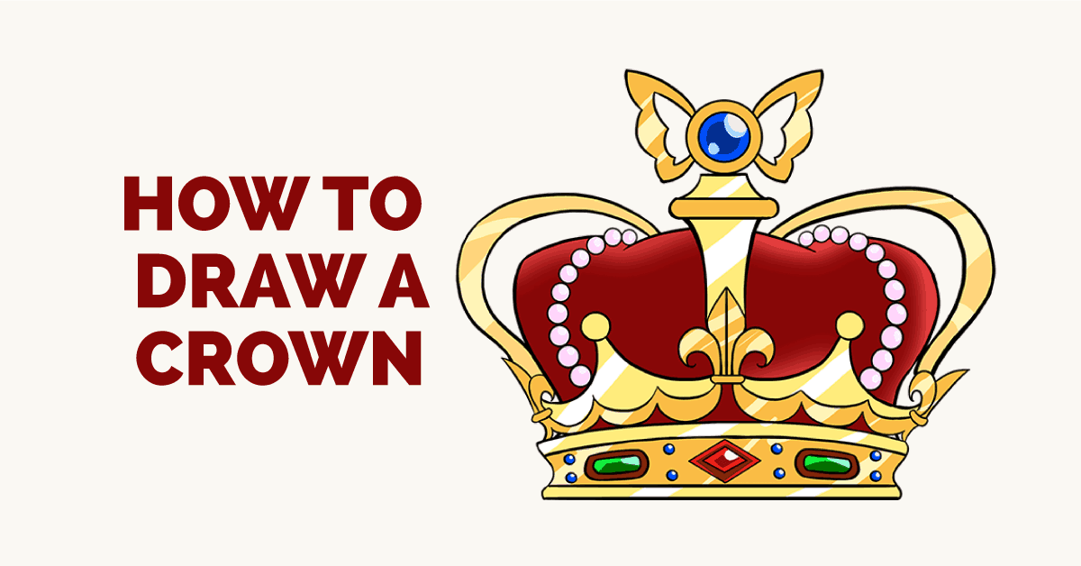 How to Draw a Crown: Featured Image
