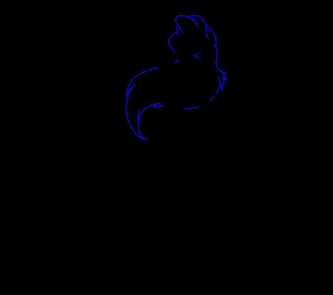 How to Draw Mermaid Ariel: Step 17
