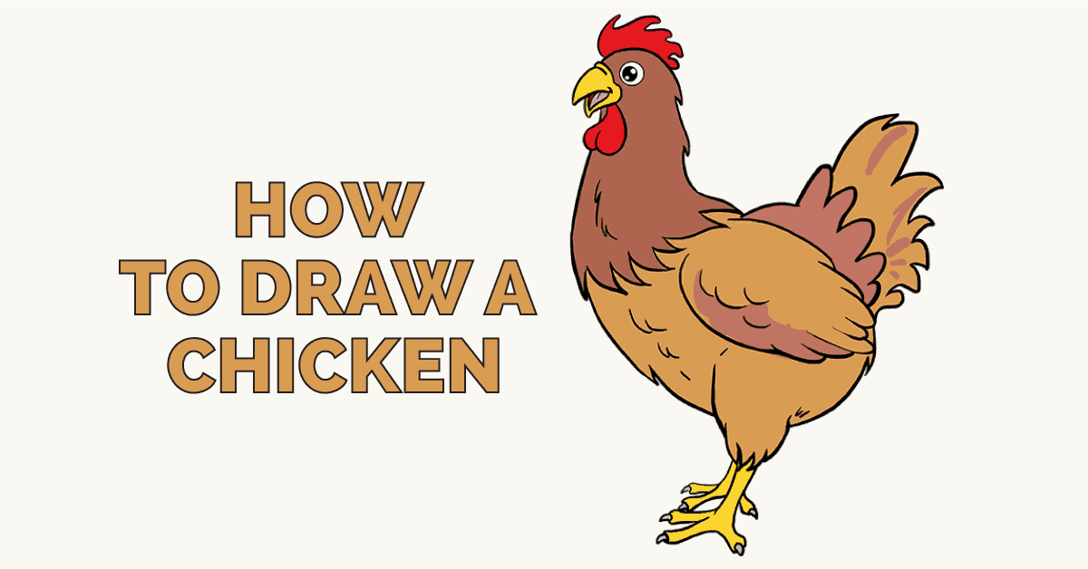 How to Draw a Chicken: Featured Image