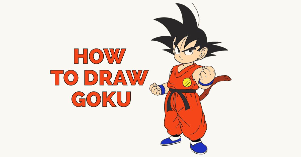 How to Draw Goku: Featured Image